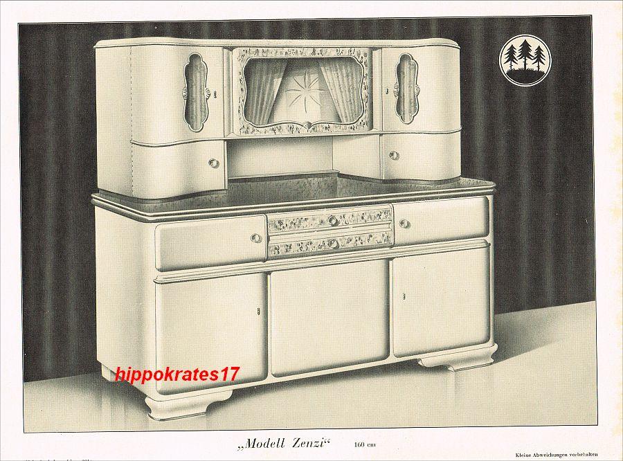 peterzell werbung 1949 k chenm bel fabrik kopp modell. Black Bedroom Furniture Sets. Home Design Ideas